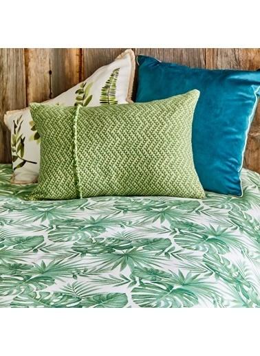 Bella Maison %100 Pamuk Nieves Yeşil Pike Çift Kişilik (220x230 cm) Yeşil
